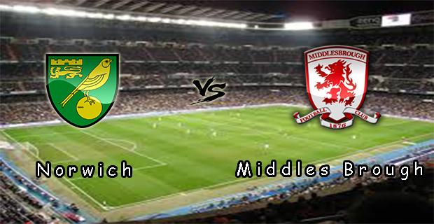 Prediksi Skor Norwich Vs Middlesbrough 25 Mei 2015