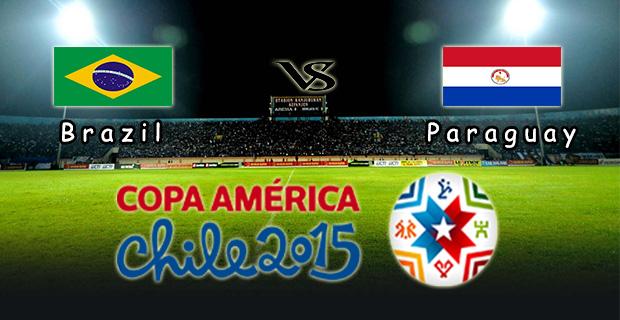 Prediksi Skor Brazil Vs Paraguay 28 Juni 2015