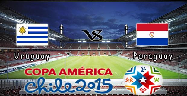 Prediksi Skor Uruguay Vs Paraguay 21 Juni 2015