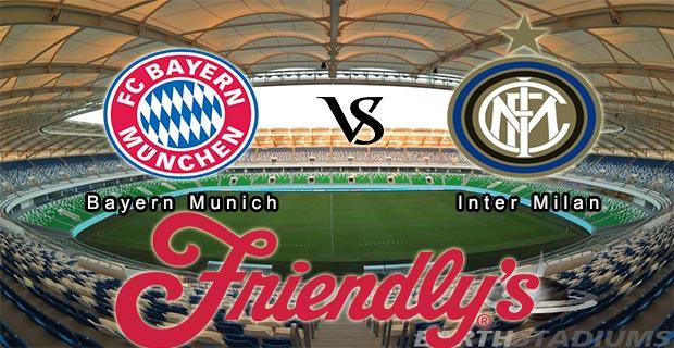 Prediksi Skor Bayern Munchen Vs Inter 21 Juli 2015