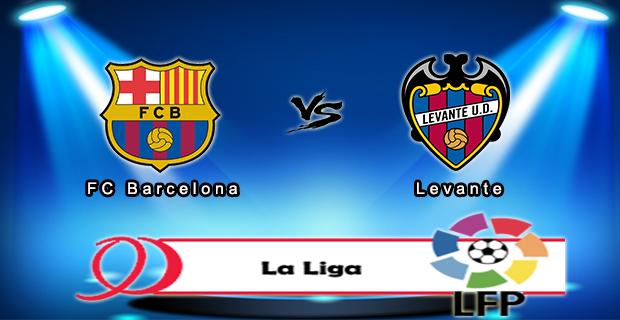 Prediksi Skor Barcelona Vs Levante 21 September 2015