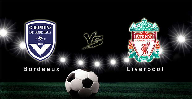 Prediksi Skor Bordeaux Vs Liverpool 18 September 2015