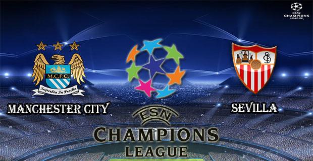 Prediksi Skor Manchester City Vs Sevilla 22 Oktober 2015