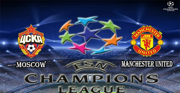 Prediksi Skor Moscow Vs Manchester Utd 22 Oktober 2015