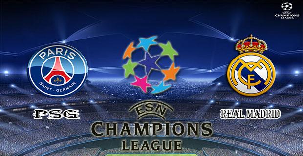 Prediksi Skor PSG Vs Real Madrid 22 Oktober 2015