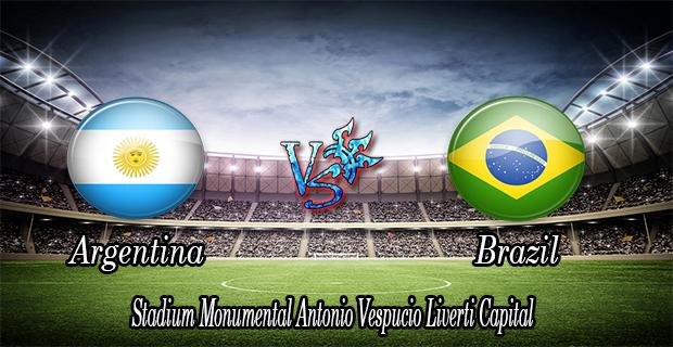 Prediksi Skor Argentina Vs Brazil 13 November 2015