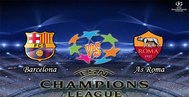 Prediksi Skor Barcelona Vs Roma 25 November 2015