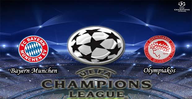Prediksi Skor Bayern Munchen Vs Olympiakos 25 November 2015