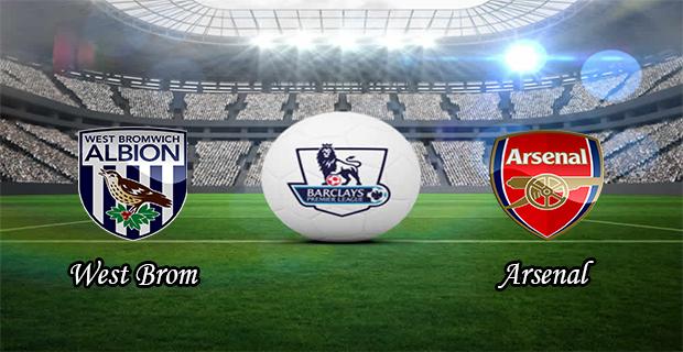 Prediksi Skor West Brom Vs Arsenal 21 November 2015