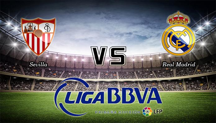 Prediksi Skor Sevilla Vs Real Madrid 09 November 2015