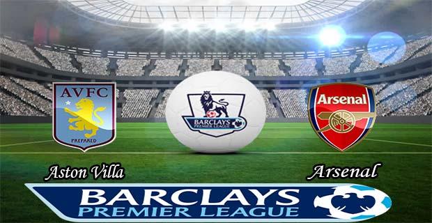 Prediksi Skor Aston Villa Vs Arsenal 13 Desember 2015