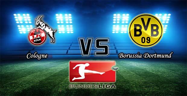Prediksi Skor Cologne Vs Borussia Dortmund 19 Desember 2015