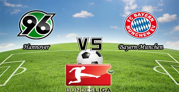 Prediksi Skor Hannover Vs Bayern Munchen 19 Desember 2015