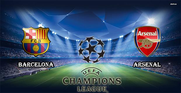 Prediksi Skor Barcelona Vs Arsenal 17 Maret 2016