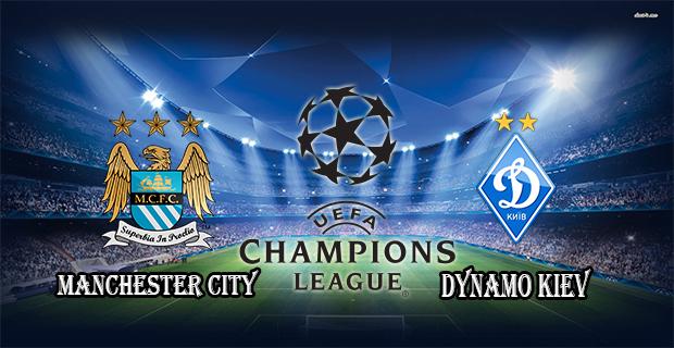 Prediksi Skor Manchester City Vs Dynamo Kiev 16 Maret 2016