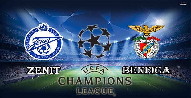 Prediksi Skor Zenit Vs Benfica 10 Maret 2016