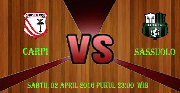 Prediksi Skor Carpi vs Sassuolo 2 April 2016