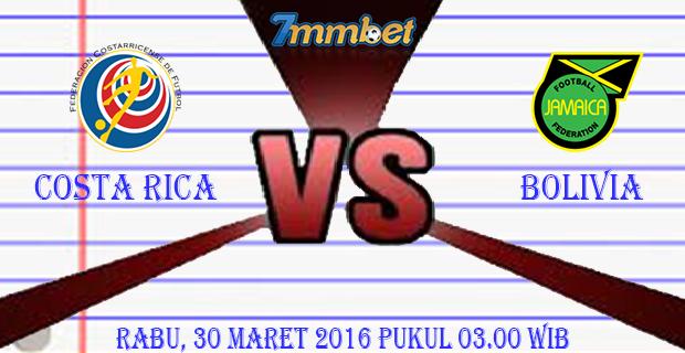 Prediksi Skor Costa Rica Vs Jamaica 30 Maret 2016