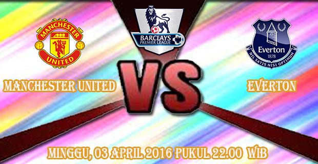 Prediksi Skor Manchester United vs Everton 3 April 2016