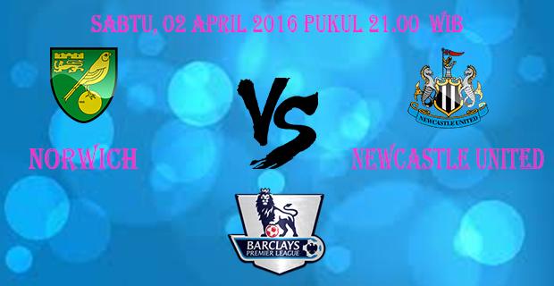 Prediksi Skor Norwich vs Newcastle United 2 April 2016
