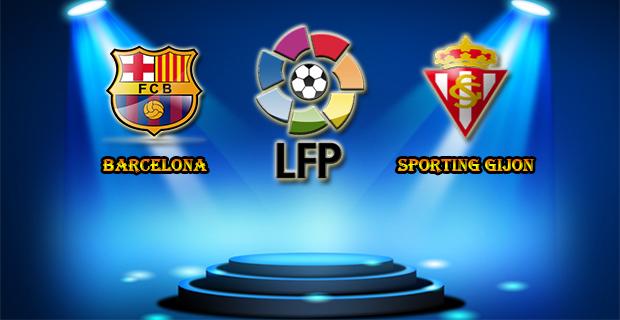 Prediksi Skor Barcelona vs Sporting Gijon 24 April 2016