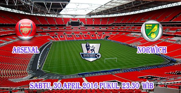 Prediksi Skor Arsenal vs Norwich 30 April 2016