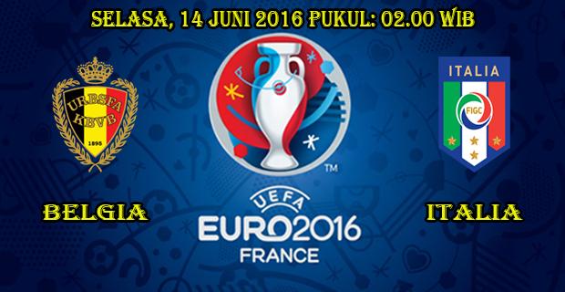 Prediksi Skor Belgia vs Italia 14 Juni 2016