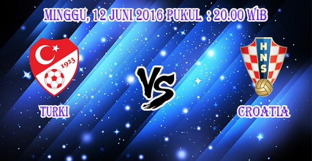 Prediksi Skor Turki vs Croatia 12 Juni 2016