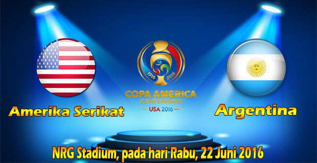 Prediksi Skor Amerika Serikat Vs Argentina 22 Juni 2016