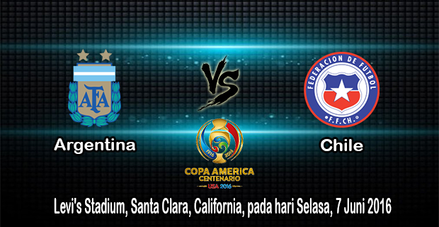Prediksi Skor Argentina Vs Chile 7 Juni 2016