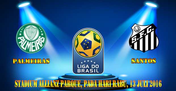 Prediksi Skor Palmeiras Vs Santos 13 Juli 2016