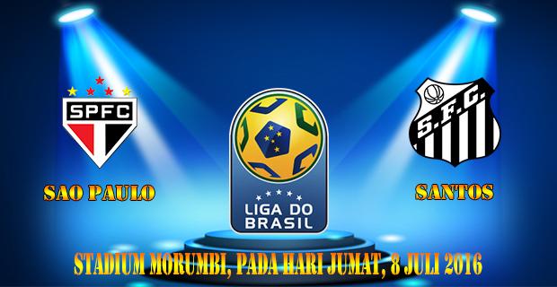 Prediksi Skor Sao Paulo Vs Santos 8 Juli 2016