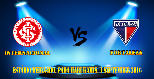 Prediksi Skor Internacional vs Fortaleza 1 September 2016