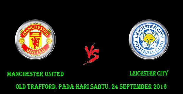 Prediksi Skor Manchester United vs Leicester City 24 September 2016