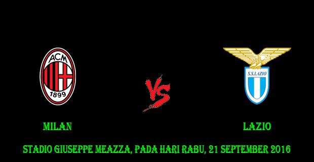Prediksi Skor Milan vs Lazio 21 September 2016