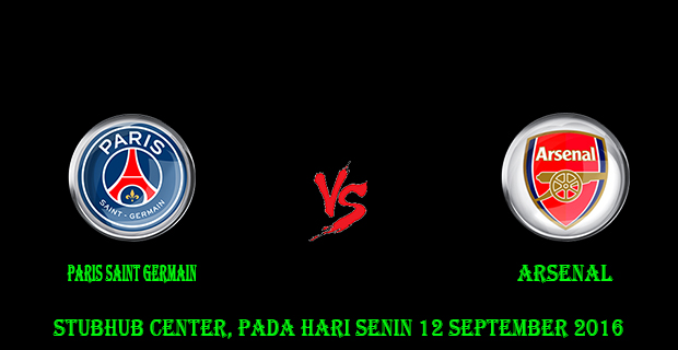 Prediksi Skor Paris Saint Germain vs Arsenal 14 September 2016