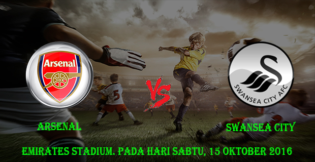 Prediksi Skor Arsenal vs Swansea City 15 Oktober 2016