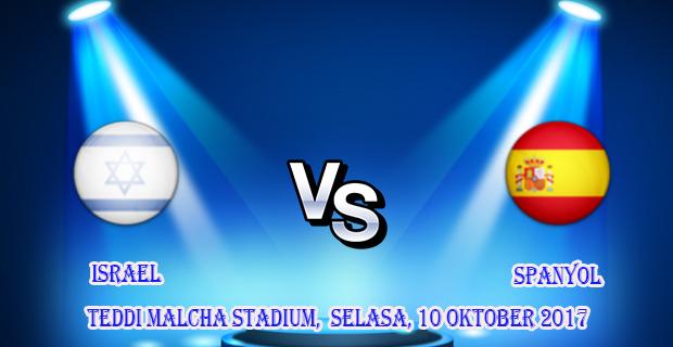 prediksi-israel-vs-spanyol-10-oktober-2017