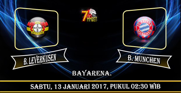 prediksi-skor-bayer-leverkusen-vs-bayern-munchen-13-januari-2017