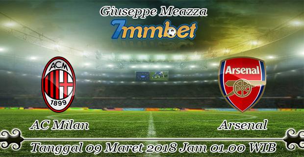 prediksi-skor-ac-milan-vs-arsenal-09-maret-2018